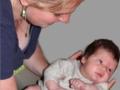 Babybehandlung nach Bobath
